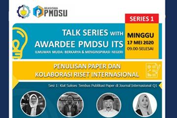 Talk Series with Awardee PMDSU ITS