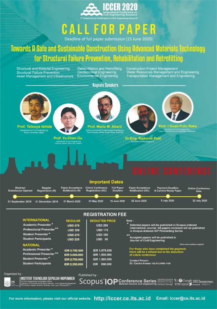 Call for Paper ICCER 2020