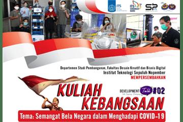 Webinar Event : Kuliah Kebangsaan ITS 2020