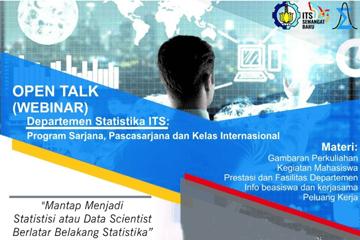 Open Talk : Statistics Department