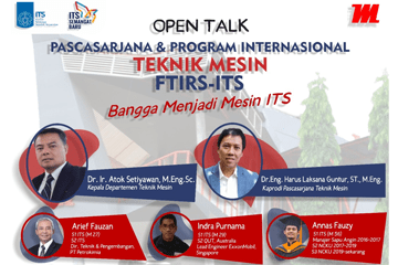 Open Talk Mechanical Engineering