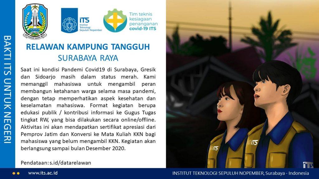 Open Volunteers Kampung Tangguh Surabaya