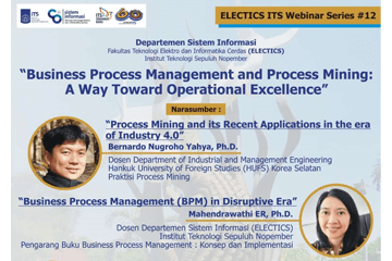 Electics ITS Webinar Series 12 : Information System Department