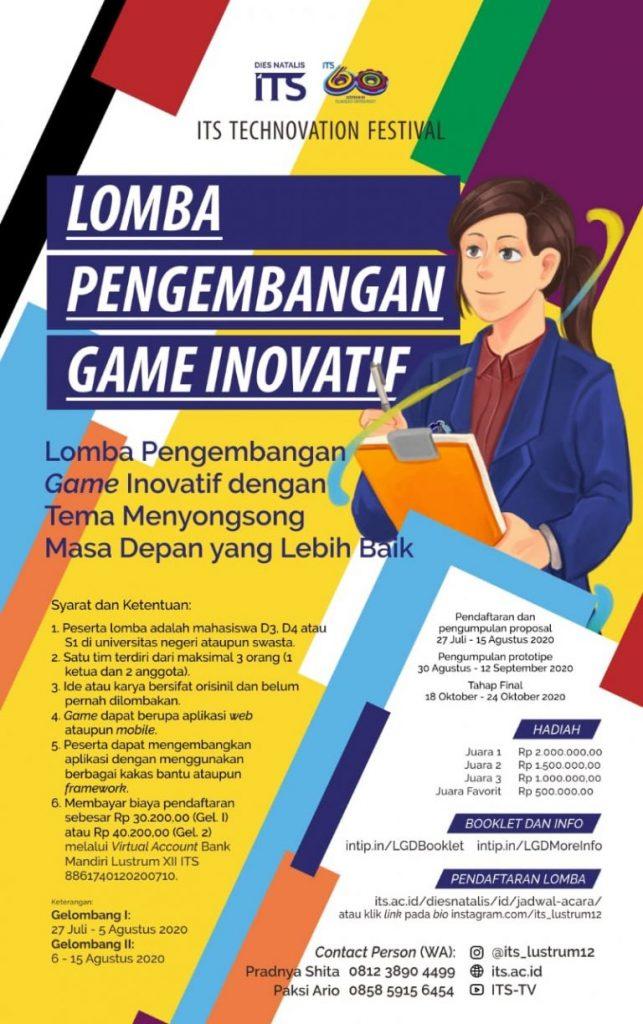 Lustrum ITS : Innovative Game Development Contest