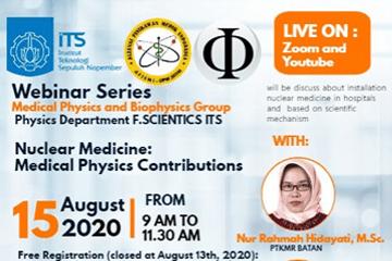 Webinar Series : Physics Departement