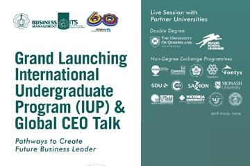 Grand Launching International Undergraduate Program of Departemen Business Management
