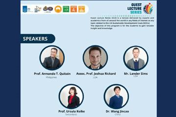 Guest Lecture Series : SDGs