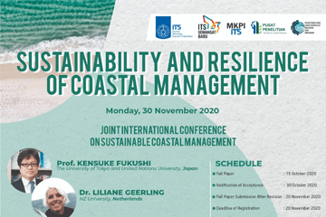 Conference of Sustainability and Resilience of Coastal Management 2020