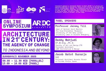 Online Symposium AR+DC : Department of Architecture