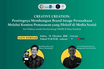 Webinar : Creative Creation