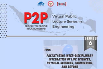 P2P: Virtual Public Lecture Series in Engineering Series 6