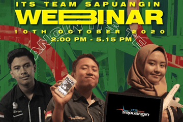 Webinar : ITS Team Sapuangin 2020