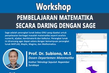 Webinar : Workshop Department of Mathematics