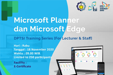 DPTSI Training Series : For Lecture and Staff