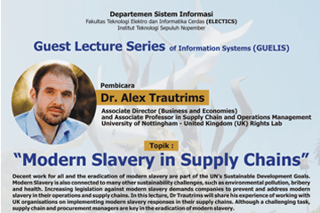 Webinar : Guest Lecture Series of Information Systems Part 1
