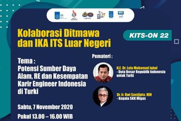 Webinar : Kolaborasi Ditmawa dan IKA ITS Luar Negeri