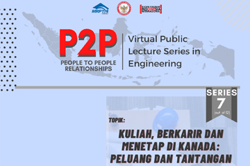 P2P: Virtual Public Lecture Series in Engineering Series 7