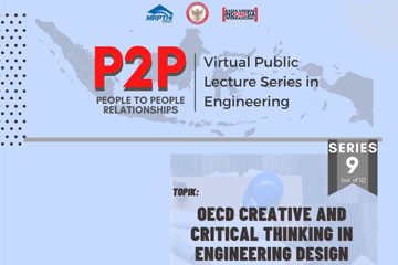 P2P: Virtual Public Lecture Series in Engineering Series 9