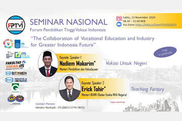 National Seminar : of the Indonesian Vocational Higher Education Forum