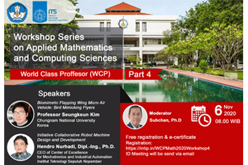 Workshop Series on Applied Mathematics and Computing Sciences Part 4