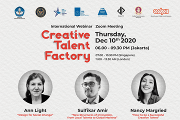 International Webinar : Creative Talent Factory