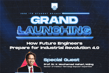 Grand Launching IEEE ITS Student Branch