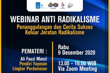 Webinar : Anti Radicalism