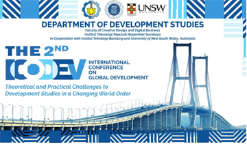 Webinar : The 2nd International Conference on Global Development