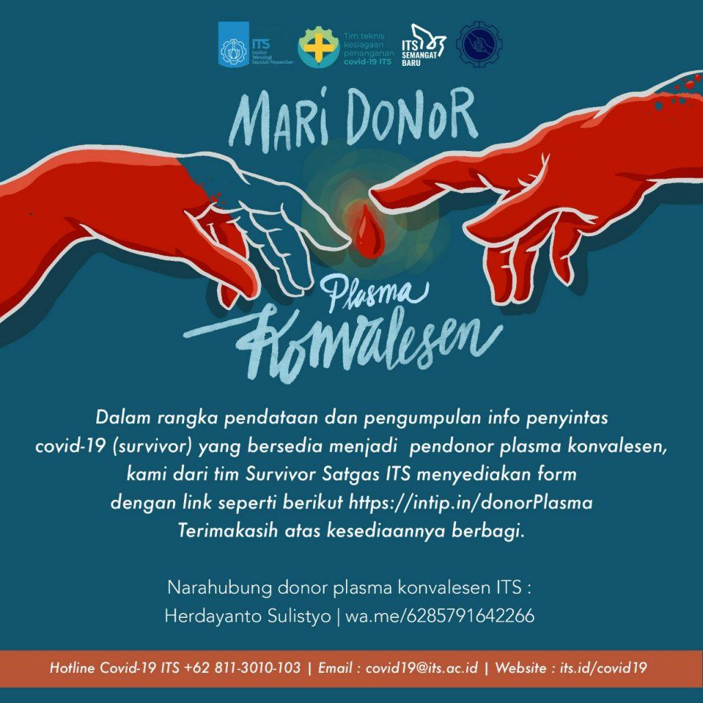 Mari Donor Plasma Konvalesen