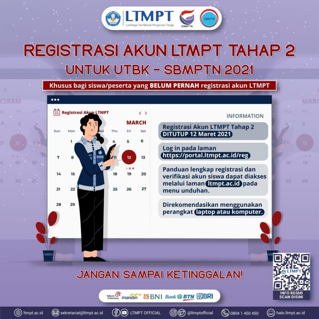 Registration of LTMPT Account – Stage 2