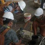 Mahasiswa ITS Ubah Limbah Marmer Jadi Beton Berkualitas