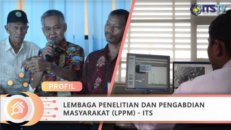 ITS Center for Research and Community Services (LPPM) Video Profile