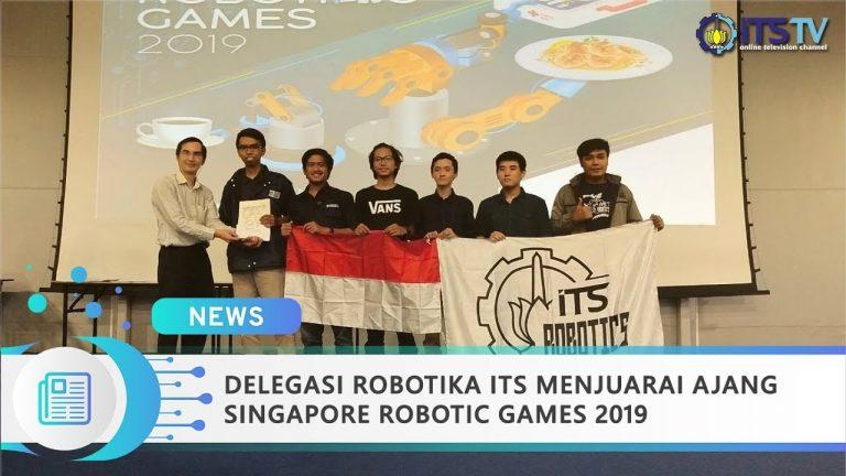 ITS Robotics Delegation Wins Singapore Robotic Games 2019