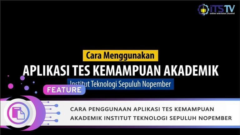 How to Use ITS Academic Ability Test Application (New Version)